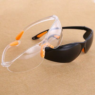 Eye Protection Protective Lab Anti Fog Clear Goggles Glasses Vented Safety ZX