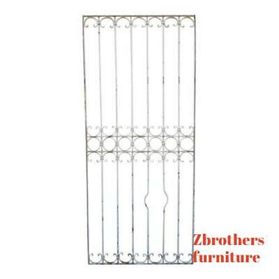 Antique Victorian Iron Gate Window Garden Fence Architectural Salvage #840