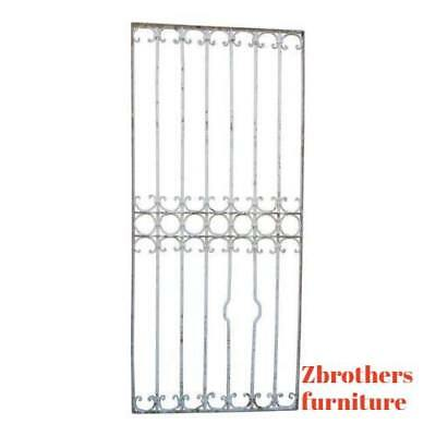 Antique Victorian Iron Gate Window Garden Fence Architectural Salvage #838