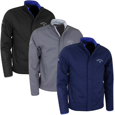 Callaway Golf Mens Lightweight Softshell Thermal Stretch Wind Resistant Jacket