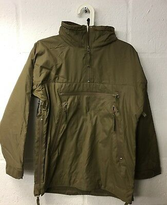 BRITISH ARMY LIGHTWEIGHT THERMAL SMOCK BUFFALO JACKET - Pullover, Small , NEW