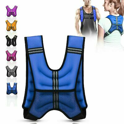 Adjustable Weighted Vest 8kg Loss Training Running Jacket Home Neoprene Jacket