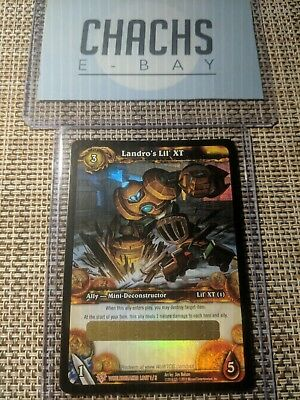 Landro's Lil' XT - Unscratched Loot Card World of Warcraft PET WoW TCG