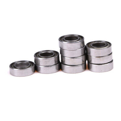 10P 688ZZ Miniature ball bearings Metal Double Shielded Ball Bearing 8x16x5mm JS