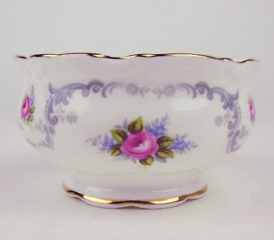 Small Sugar Bowl Royal Albert Tranquillity tranquility Vintage England