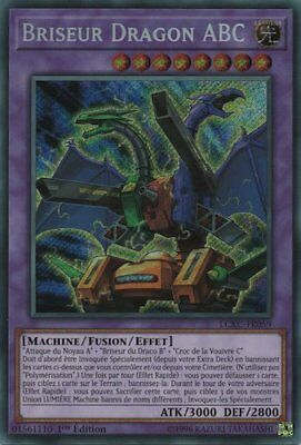 ∞ Yu-Gi-Oh ∞ Briseur Dragon ABC LCKC-FR059 Secret Rare VF