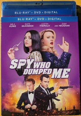 NEW The Spy who Dumped Me Blu-ray & DVD NO DIGITAL BLUERAY bluray comedy movie