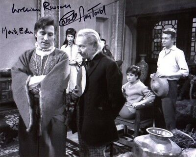 WILLIAM RUSSELL,CAROLE ANN FORD,IIONA RODGERS Signed Photo Doctor Who Autograph