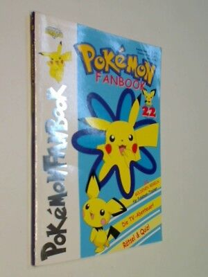 Pokemon Fanbook Nr. 22,  mit 4 Special Cards, ERSTAUSGABE 2002, Diamond Publishi