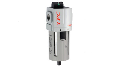 """TPCPneumatics Compressed Air In Line Moisture & Water Filter Trap 1/2"""",0.5µm New"""