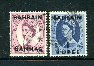 Bahrain Scott # 101, 103 - Used