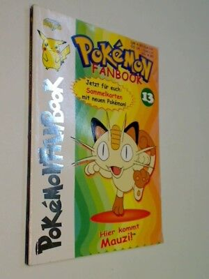 Pokemon Fanbook Nr. 13,  mit 4 Special Cards, ERSTAUSGABE 2001, Diamond Publishi