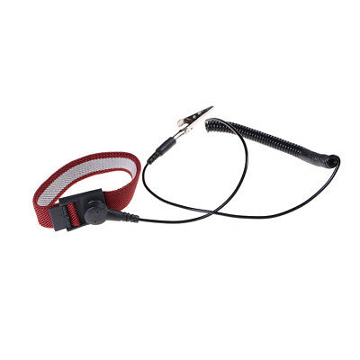 Anti Static ESD Adjustable Wrist Strap electronic Discharge Band Ground JS