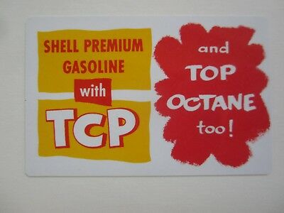 Old Vintage 1956 - SHELL - Gas & Oil - Advertising - Pocket CALENDAR