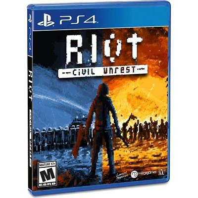 Riot Civil Unrest PlayStation 4 (February 04, 2019)