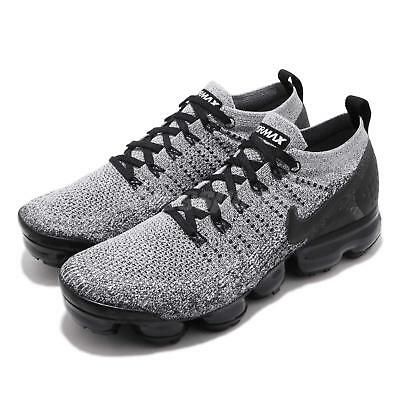 Nike Air Vapormax Flyknit 2 White Black Men Running Shoes Sneakers 942842-107