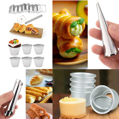 Multi-use Cake Bread Moulds Diagonal Conical Round Rectangle Cupcake Baking Tool