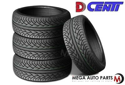 4 New Dcenti D9000 295/25R28 103Y Performance Tires
