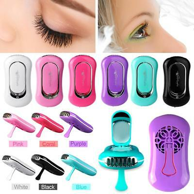 USB Mini Eyelashes Dryer Fan Nail Blower for Eyelash Extension Glue Dryer