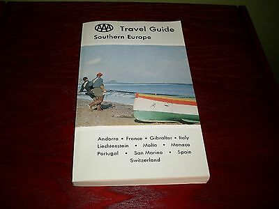 1971 AAA Travel Giode: Southern Europe