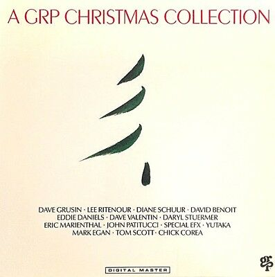 """Various Artists """"A Grp Christmas Collection"""" Premium Quality Used Lp (Nm/Ex)"""