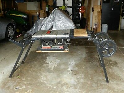 Delta Table Saw - Side Kick 8 1/4 Builder's Saw Model 36-275 with Delta Stand