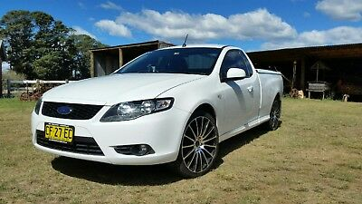 "2011 Ford Falcon R6 FG Ute - 6Cyl Auto, Low Kms, 20"" Alloys, Lockable Hard Cover"