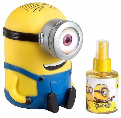 Air-Val Minion 3D Body Spray, Idea Regalo per Bambini - 100 ml