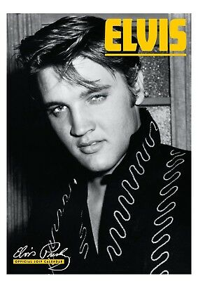 Brand new official 2019 A3 Wall Calendar - Elvis Presley