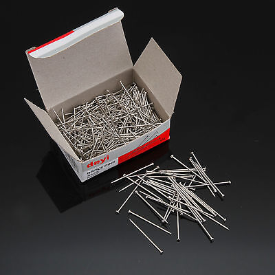 190pcs/box 1'' Dressmaker Pins Straight Point Pin For Sewing Craft Office Tailor