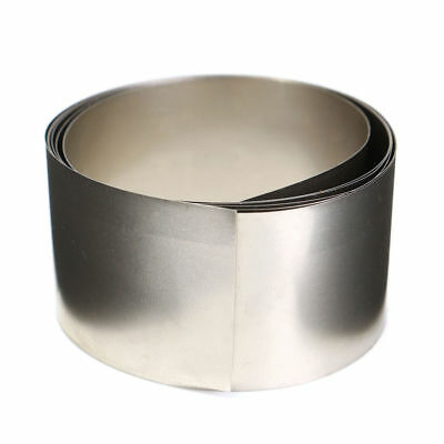 High Purity Silver Gray Pure Nickel Ni Plate Foil Metal Thin Sheet 0.1x30x1000mm