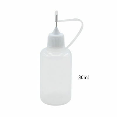 30ml Precision Tip Glue Applicator Bottle for Quilling Origami Henna Tattoo New