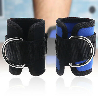 Pulley Cable Attachment Weight Lifting Ankle D-Ring Strap Gym Leg Heavy Duty