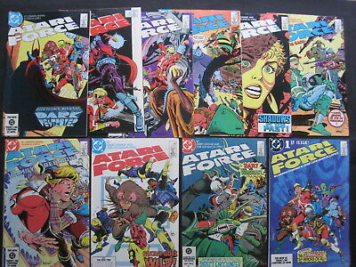 ATARI FORCE : COMPLETE 20 ISSUE CLASSIC 1984 DC SERIES +SP 1 by CONWAY,LOPEZ etc