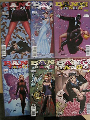 BANGO TANGO : COMPLETE 6 ISSUE SERIES by KELLY, SIBAR & RAMOS. DC VERTIGO. 2009