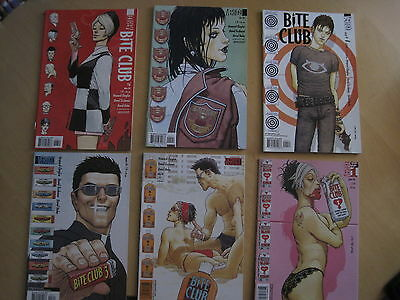 BITE CLUB : COMPLETE 6 ISSUE SERIES by CHAYKIN &  TISCHMAN. DC VERTIGO. 2004