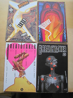 BREATHTAKER :COMPLETE 4 ISSUE PRESTG SERIES by WHEATLEY & HEMPEL.DC VERTIG0.1990