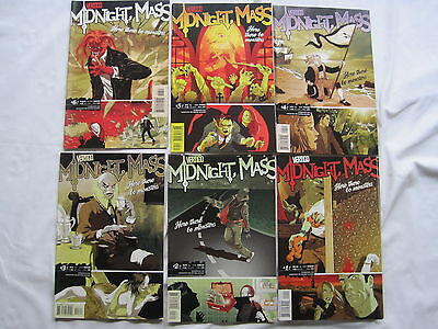 """Midnight, Mass : """"here There Be Monsters"""" : Complete 6 Issue Series.vertigo.2004"""