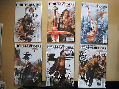 NORTHLANDERS 11-16, The CROSS + The HAMMER : COMPLETE 6 ISSUE STORY.VERTIGO.2008