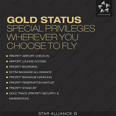 INSTANT UPGRADE 2 Years Star Alliance Gold Membership with One Silver Nomination
