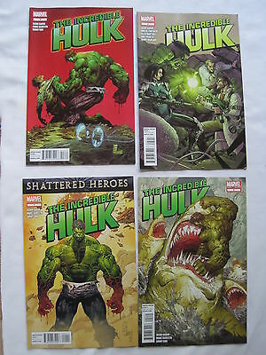 The Incredible HULK : complete run 1,2,3 + 5 by AARON & SILVESTRI. MARVEL. 2011