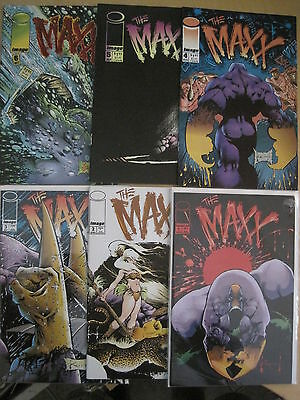 The MAXX : COMPLETE ISSUES 1,2,3,4,5,6 by SAM KIETH. IMAGE.1993 SERIES