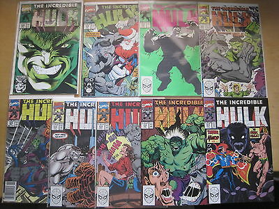 The Incredible HULK :complete CLASSIC DAVID & KEOWN run #s 371 - 379.MARVEL.1990