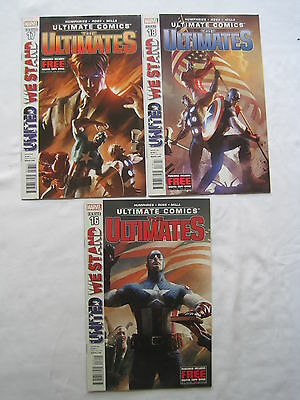 The ULTIMATES #s 16,17,18 : UNITED WE STAND : COMPLETE 3 ISSUE STORY.MARVEL.2013