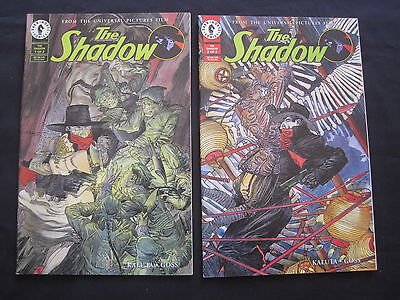 The SHADOW : COMPLETE 2 ISSUE SERIES of the MOVIE, by KALUTA & GOSS. DH.1994