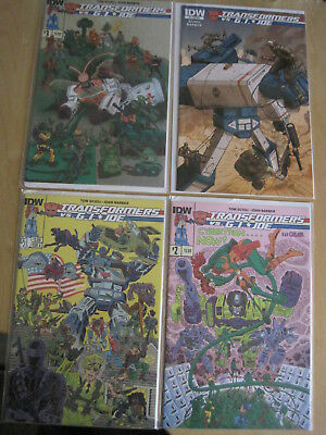 TRANSFORMERS vs G.I. JOE : COMPLETE 4 issue 2014 IDW SERIES by SCIOLI & BARBER
