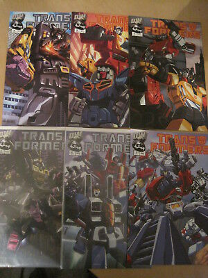 TRANSFORMERS : COMPLETE 6 ISSUE DW 2002 SERIES by CHRIS SARRACINI & PAT LEE