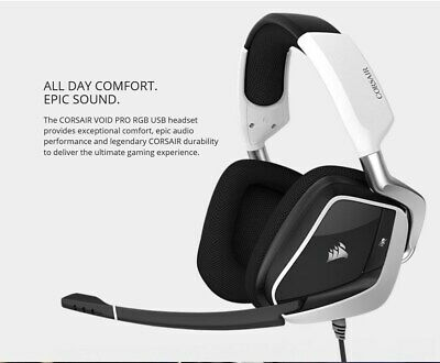 Corsair Gaming VOID PRO RGB USB Premium Gaming Headset with Dolby Headphone 7.1,