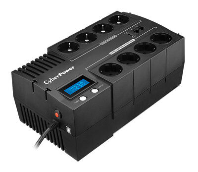 CyberPower BR700ELCD Line-Interactive 700VA 8AC outlet(s) Black uninterruptible