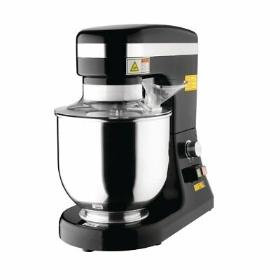 Buffalo Planetary Mixer 7 Ltr Litre Stainless Steel Bowl 270W  - CP921  Catering